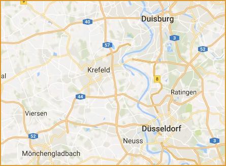 Lagerbox mieten in Krefeld und Umgebung